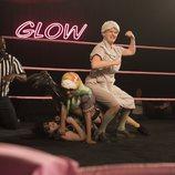 Stacey Beswick lucha contra Sheila y otra actriz en la segunda temporada de 'GLOW'