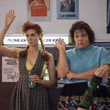 Rhonda Richardson y Carmen Wade en la segunda temporada de 'GLOW
