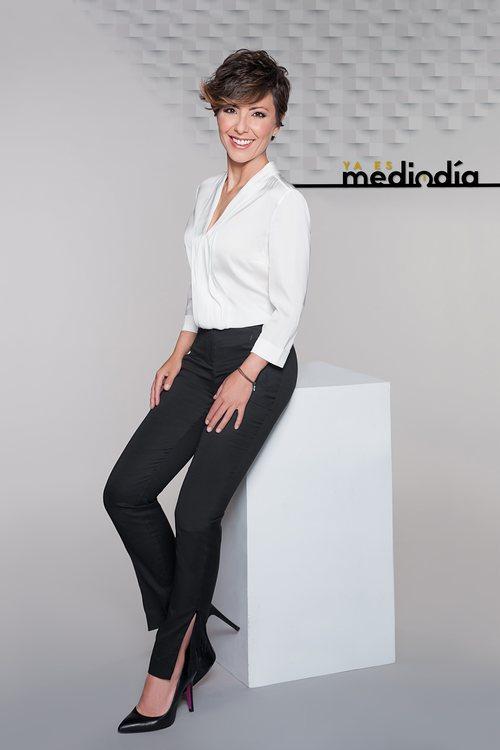 """Sonsoles Ónega es la presentadora del magacín """"Ya es mediodía"""" en Telecinco"""