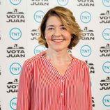 María Pujalte en la presentación de 'Vota Juan'