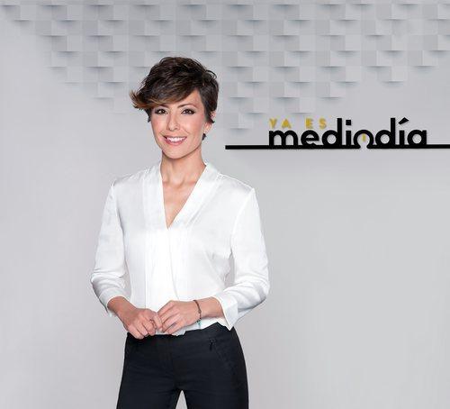 Sonsoles Ónega en 'Ya es mediodia', su programa de actualidad de Telecinco