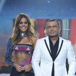 Lara Álvarez y Jorge Javier Vázquez, presentadores de la gala final de 'Supervivientes 2018'