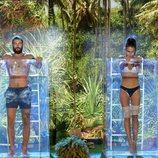 Sofía y Logan, rivales en la segunda prueba de la gala final de 'Supervivientes 2018'