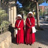 Silvia Abril y Mónica Pérez son las protagonistas de 'El cuento de la criada' en un sketch de 'Homo Zapping'