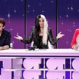 El jurado de 'OT 2017' en un sketch de la segunda temporada de 'Homo Zapping'