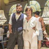 Alex García y Michelle Jenner, protagonistas de 'El Continental'