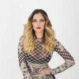 Mireya Bravo ('OT 2017') posa con un vestido de encaje