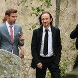 Ben Crompton en la boda de Kit Harington y Rose Leslie