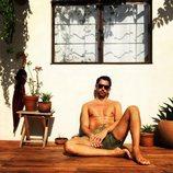 Paco León, al sol