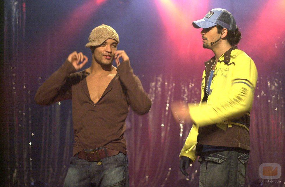 Edu del Prado y Miguel Ángel Muñoz bailan en 'Un paso adelante'