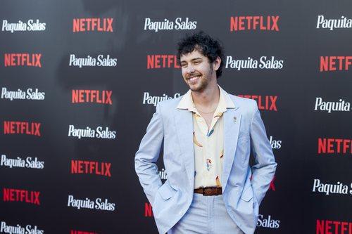 Álex de Lucas en la premiere de la segunda temporada de 'Paquita Salas'
