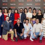 Equipo al completo de 'Paquita Salas' en la premiere de la segunda temporada