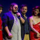 Brays Efe habla sobre el escenario en la premiere de la segunda temporada de 'Paquita Salas'