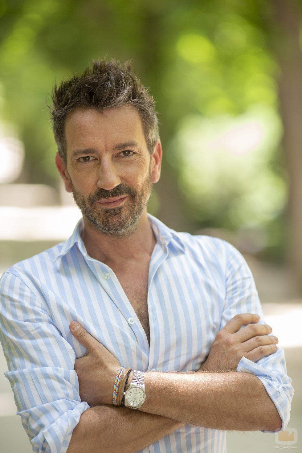 David Valldeperas, presentador de Telemadrid con 'Aquí hay madroño'