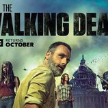 Poster oficial de la novena temporada 'The Walking Dead'