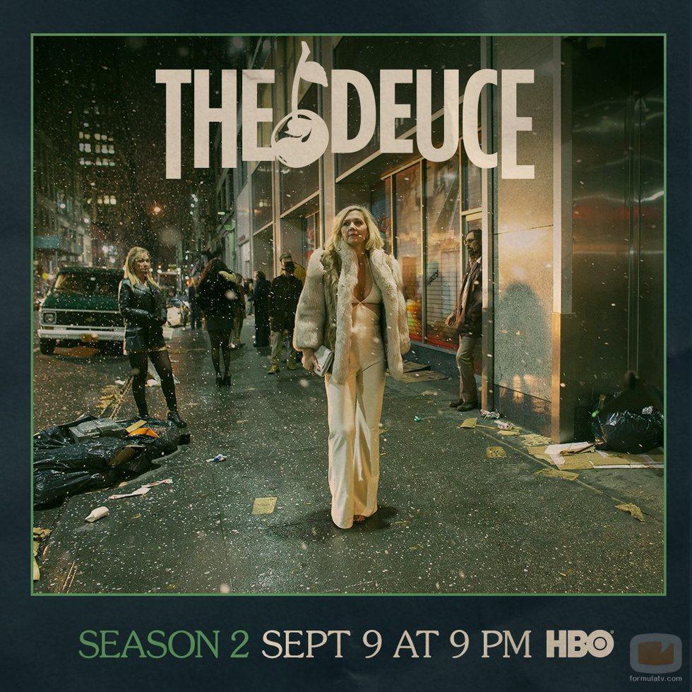 Maggie Gyllenhaal protagoniza uno de los poster de la segunda temporada de 'The Deuce'