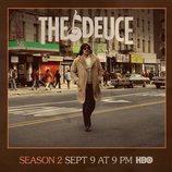 James Franco se transforma en uno de los hermanos Martino en el poster de la segunda temporada de 'The Deuce'