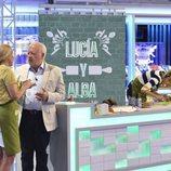 Juan Echanove con Lucía Pariente y Alba Carrillo en 'Mi madre cocina mejor que la tuya'