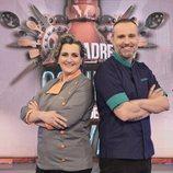 Pepa Muñoz y Rodrigo de la Calle, los expertos chefs de 'Mi madre cocina mejor que la tuya'