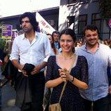 Kerim y Fatmagül en una manifestación durante los últimos episodios de 'Fatmagül'