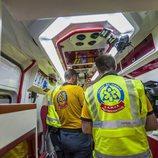El interior de una ambulancia del SAMUR en 'Ambulancias, en el corazón de la ciudad'