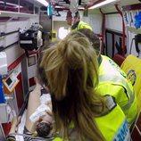 Médicos atienden un parto en directo en 'Ambulancias, en el corazón de la ciudad'