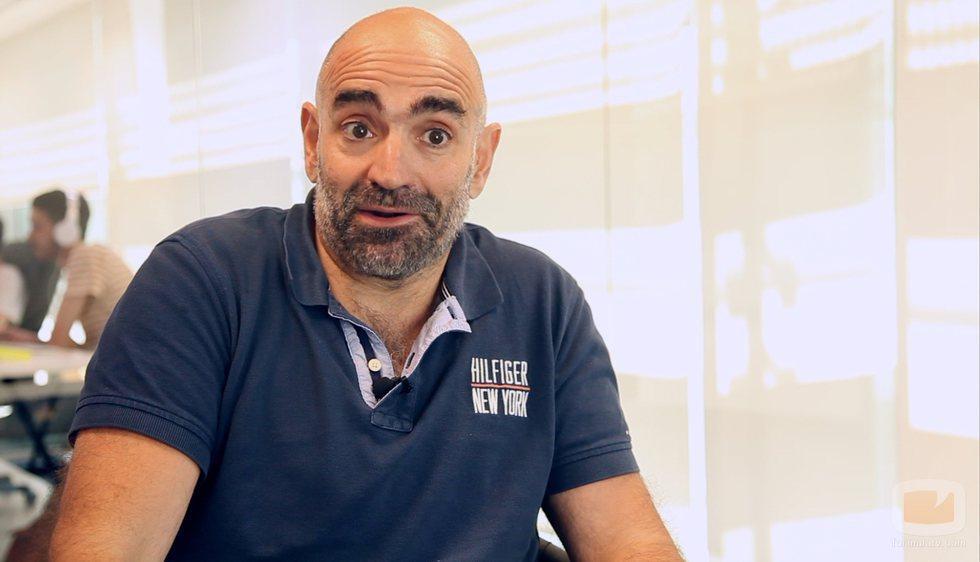 Javier Holgado, creador y guionista de 'Motivos personales' y 'Los misterios de Laura'