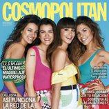Ana Guerra, Amaia, Aitana y Miriam en la portada de Cosmopolitan