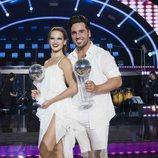 David Bustamante y Yana en la gala final de 'Bailando con las estrellas'