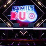 Mesa del jurado del talent show 'Family duo'