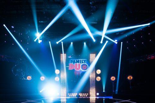 Plató del talent show de À Punt, 'Family duo'