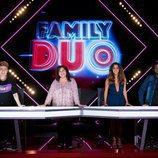 Los miembros del jurado de 'Family duo'