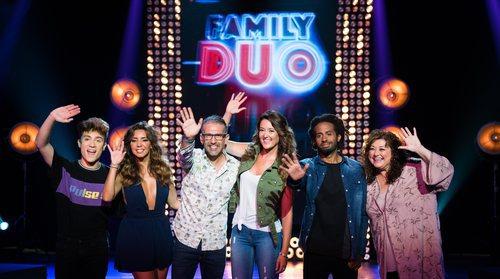 Equipo al completo de 'Family duo'