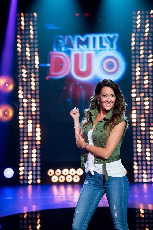 Sònia Fernández, presentadora de 'Family duo'