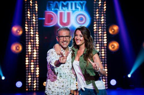 Sonia Fernández y Joan Espinosa,  presentadores de 'Family duo'