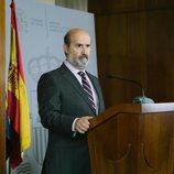 Javier Cámara durante una escena de 'Vota Juan'