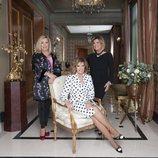 María Teresa Campos, Carmen Borrego y Terelu Campos, en el posado oficial de la nueva temporada de 'Las Campos'