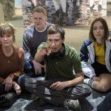 Sam le muestra los pingüinos a su familia en la segunda temporada de 'Atípico'