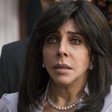 Verónica Castro es Virgina de la Mora en la primera temporada de 'La casa de las flores'