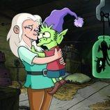 Bean y Elfo se abrazan en '(Des)encanto' ante la mirada de Luci