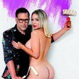 Belén Roca posa desnuda con Torito para Primera Línea