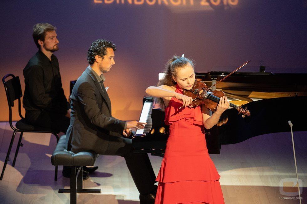 Sara Valencia actúa en el Festival de Eurovisión de Jóvenes Músicos 2018