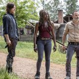 Daryl, Michonne y Rick en la novena temporada de 'The Walking Dead'