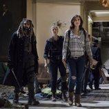 Los protagonistas de 'The Walking Dead' descubren una nueva localización en la novena temporada