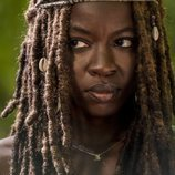 Michonne protagoniza una imagen de la novena temporada de 'The Walking Dead'