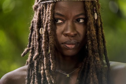 Michonne protagoniza una imagen de la novena temporada de 'The Walking Dead'