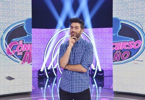 Dani Martínez, presentador de 'El concurso del año'