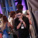 Un participante del casting final de 'OT 2018', nervioso antes del veredicto de Noemí Galera