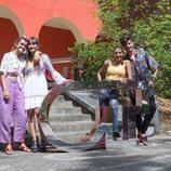 Amaia Romero, Aitana Ocaña, Roi Méndez y Ana Guerra, juntos en la fase final del casting de 'Operación Triunfo 2018'