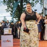 Itziar Castro, de 'Vis a Vis', en la alfombra naranja del FesTval 2018